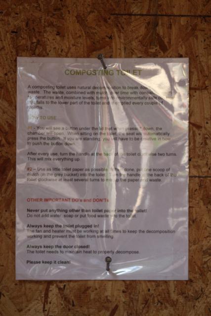 Verdi uses Composting Toilet instead of Chemical Port-a-John ...