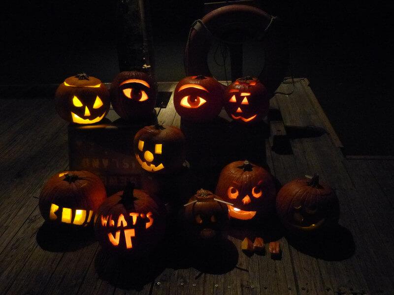 Pumpkins on Dewees