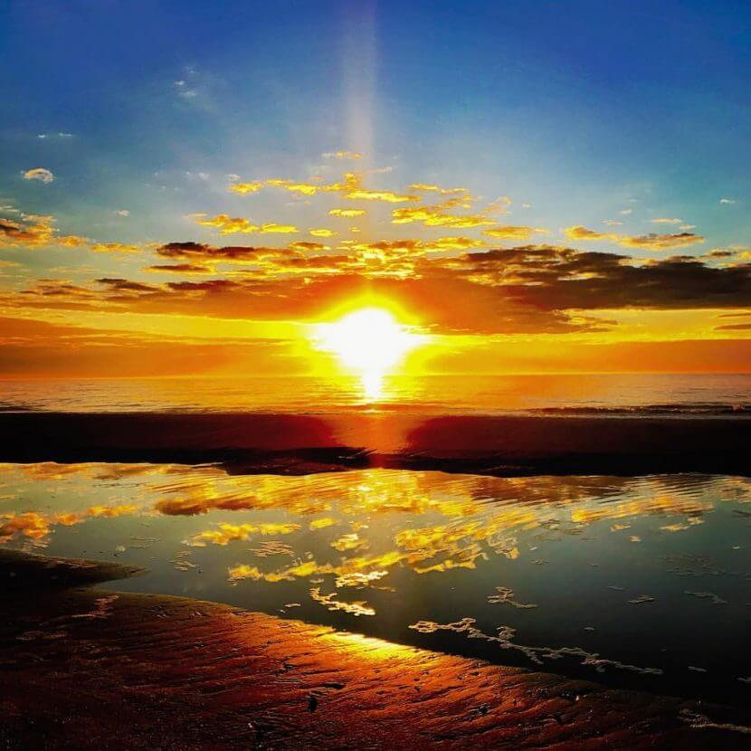 Dewees Island Thanksgiving Sunrise